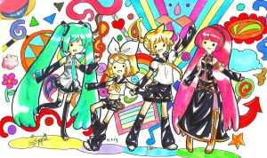 Vocaloid Adventure Time!! by suppiechan25