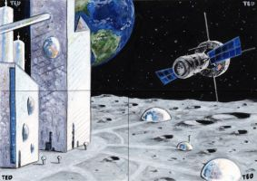 Space! Artist Proofs by tdastick