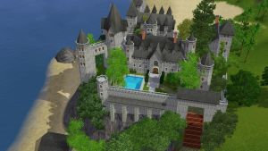 Sims 3 Castle by RamboRocky