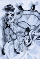 Rozen Maiden - Suiseiseki and Souseiseki by Kudo008