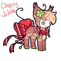 Cherry Jubilee Tranceling AUCTION by Celestial-Trance