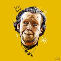 Simon Pegg as Gary King by JamesBousema
