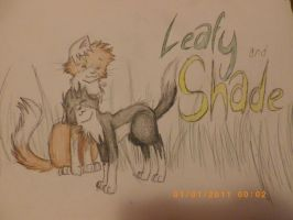 Leafy and Shade by theanimemaster2
