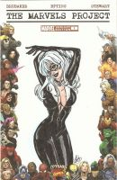 Black Cat by AmberStoneArt