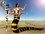 The Serpent Goddess 2 by Boomgts