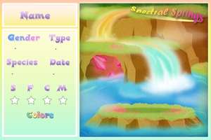 PKMN - Spectral Springs Template by Piranhartist