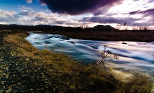 The Small River by dannesyd