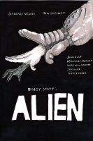 alien poster sketch 1 by komozeck