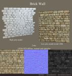 Brick Wall by amaterasu111