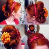big ole updo by hellohappycrafts