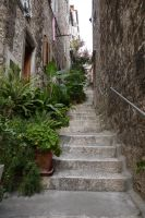 Stairs in Hvar by DancingCorgi