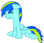 Crying Thundersky (request) by ThatFatBrony