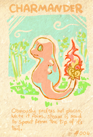 Charmander Entry by Fiuefey