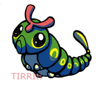 Caterpie by Tirrih
