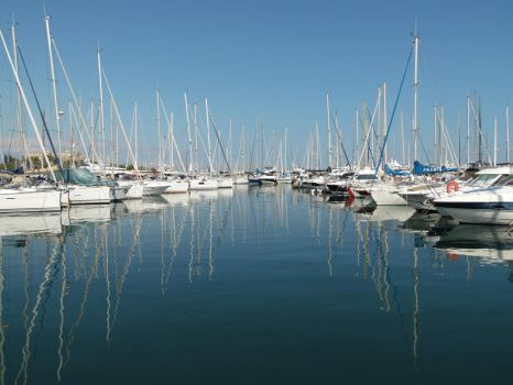 The port of Antibes by Sandy06