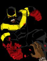 Phoenix Jones cautionary art by samax