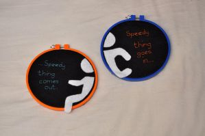 Portal Hoops by VickitoriaEmbroidery
