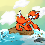 CE: Jame's Fish Pool by ShadowyChica