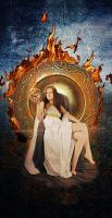 Queen of Fire. by kathero3