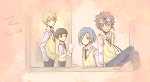 Spring Comes-Boys' side by eevee-moon