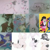 Walt Disney Characters by MARLY272000
