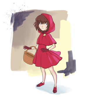 Little Red Riding Hood by revvriverse