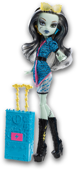 Monster High Doll Clipart: Scaris Frankie Stein by MHProGal