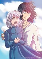 Sophie and Howl by irishgirl982