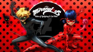 Miraculous Ladybug and Chat Noir by QueenAncana