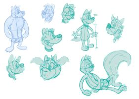 Silly doodles by valdo-wolf
