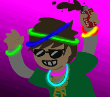 Raving Edd by amythystanime
