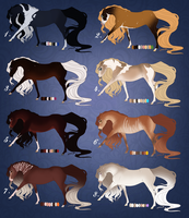 Mystery Natural Adopts part 3 [ CLOSED ] by sana-0095