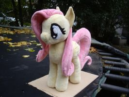 Fluttershy plush by ferbii