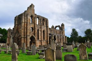 Elgin Cathedral's Cemetery by dcheeky