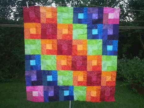 Quilt 4 Abes quit by FaeryofEvol