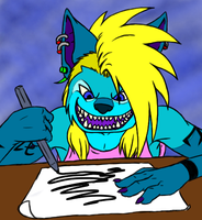 I FUXXING LOVE COLORING by ArpegiusWolf
