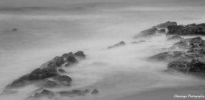 Ballito Beach Rocks by Okavanga