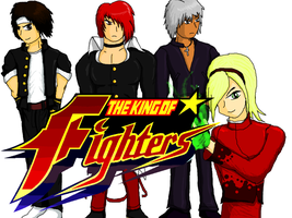 King of Fighters by CrossoverGameReviews