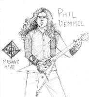 MORE PHIL DEMMEL GODDAMMIT by zombiepencil