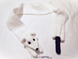 Custom Ermine Scarf by Cateaclysmic