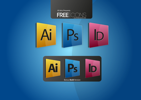 Free Adobe Icons by AL-Arts