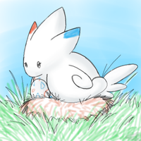 Togekiss and Egg by Thalateya