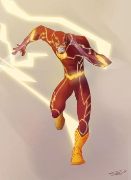 Lightning bolt man!! by Corey-Smith