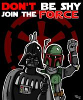 Don't be shy Join the force by joaoMachay