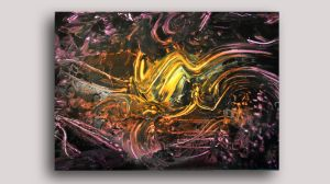 Spray painting Abstract 2 big size by Airgone