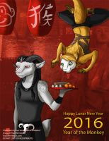 [Personal] Lunar New Year 2016 by Ulario