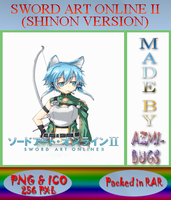 Sword Art Online II (Shinon version) - Anime icon by azmi-bugs