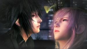 Noctis X Lightning manip type thingy? by NinaFullMetal
