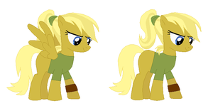 Doctor Whooves Daughter by ParadoxalOrder