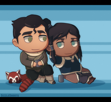 Chibi Cuties - Borra by WyldeElyn
